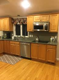 what colour goes with maple cabinets e design 3 painted oak maple kitchen cabinet projects