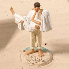 photo cake topper caucasian wedding cake topper target