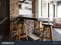 bar in dining room mini drinks bar modern apartment stock photo 82051504 shutterstock