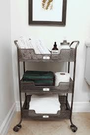 Rolling Bathroom Storage Cart best 25 bathroom cart ideas on pinterest bathtub redo college