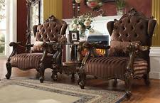 Traditional Accent Chair Acme Traditional Accent Chairs Ebay
