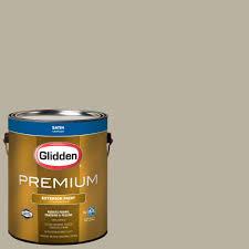 glidden premium 1 gal hdgwn63 chimayo sage satin latex exterior