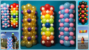 balloon columns you can make balloon columns for only 5