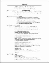 resumes objectives examples resume examples and free resume
