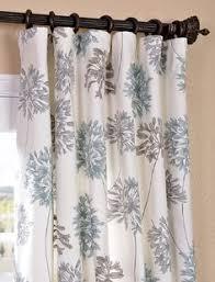 Gray Blue Curtains Designs White Gray Horizontal Striped Drapes L Key