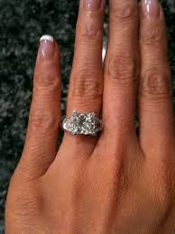 3 carat engagement rings how big is a 3 carat ring freundschaftsring co