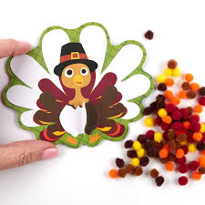 foamies thanksgiving pilgrim turkey craft kit craft kits