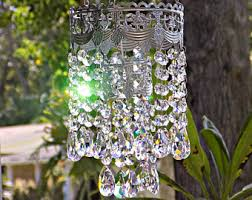 Lead Crystal Chandelier Parts Crystal Chandelier Etsy