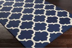Blue Contemporary Rugs Area Rug Epic Rug Runners Blue Rug In Navy And White Rug