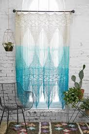 Crochet Curtain Designs Curtains 1693 House Beautiful Olasky Turquoise Print Curtains