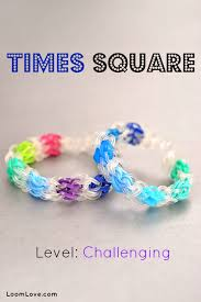 make rainbow bracelet images How to make the times square rainbow loom bracelet jpg