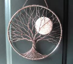 calming tree wire tree of life wall hanging sun catcher tree