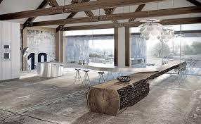 luxus küche kochinsel sonderform aus inox für luxus küche freshouse