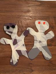 mummy crafts for halloween rainy days call for easy and fun crafts