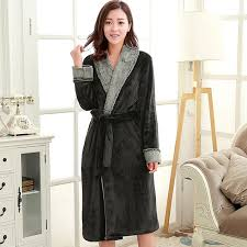 robe de chambre luxe femme de luxe de fourrure de soie doux kimono peignoir