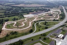 corvette museum race track paving beginson motorsports park s racetrack bgdailynews com