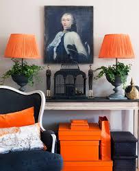 Orange And Brown Home Decor Best 25 Orange Interior Ideas On Pinterest Blue Orange Kitchen