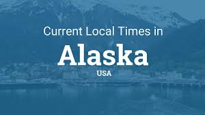 State Flag Of Alaska Current Local Time In Alaska United States