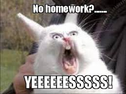 Homework Meme - 10 memes that accurately describe a college student during break