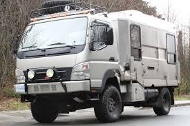 mitsubishi fuso box truck mitsubishi fuso fg 4 4 expedition vehicle truck adventure travel