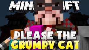 Grumpy Cat Has Died Youtube - minecraft please the grumpy cat youtube