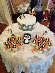 penguin baby shower entire penguin baby shower theme