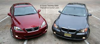 lexus es 250 vs bmw 320i faceoff lexus is350 vs bmw 330i