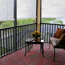 Sizing Blinds Bamboo Roll Up Blinds For Porch