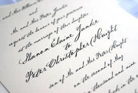 Prince William Wedding Invitation Card Handwritten Wedding Invitations U0027 Imprint Your Own Feelings Via The