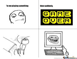 Game Over Meme - game over by denisekazuxelee234 meme center
