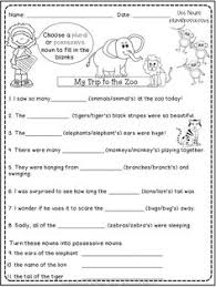 using possessive nouns worksheetworks com worksheets