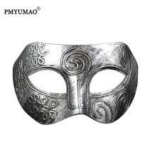 silver skull halloween mask medieval fantasy mask black crown evil queen halloween warlord