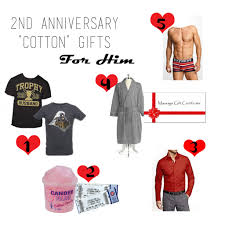 second year anniversary gift ideas 2nd anniversary cotton gift guide for him the cotton