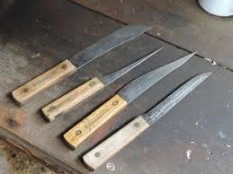 hickory kitchen knives ontario knife company hickory retro knives