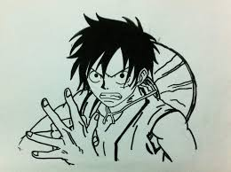 luffy drawing one piece amino