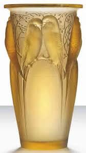 Yellow Glass Vase R Lalique Vases And Rene Lalique Vases Rlalique Com Blog