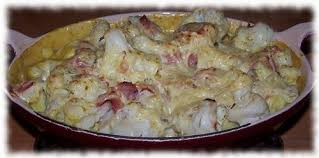 recette de cuisine rapide pour le soir gratin de chou fleur et curry les carnets de par sbmarie