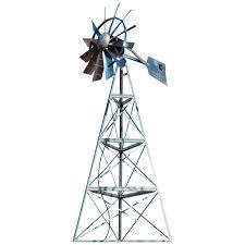 outdoor water solutions 16 u0027 ornamental windmill 282212