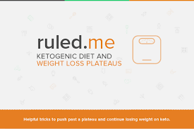 the ketogenic diet and weight loss plateaus ruled me