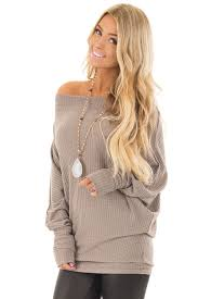 oversized shoulder sweater coco oversized the shoulder waffle knit top lime lush boutique