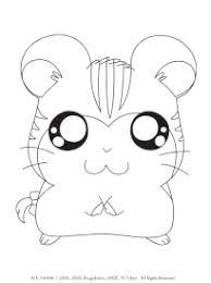 Coloriage Hamster Hamtaro sur Hugolescargotcom