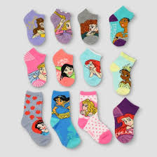 disney princess 12 days of socks casual socks target