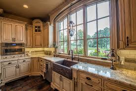 Old World Kitchen Cabinets French County Elegance Ramsey Building New Home Construction