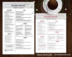 bar menu template home shop food menu restaurant menu design