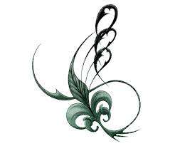 whispering leaf flower tattoo design tattootemptation clip