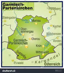 Map Of Bavaria Germany by Garmischpartenkirchen Bavaria Germany Stock Illustration 96258230
