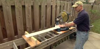 Build Outside Wooden Table by Diy Projects Build Outdoor Wood Furniture Today U0027s Homeowner