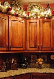decorating above kitchen cabinets for christmas christmas design
