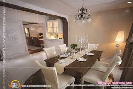 Living Dining Room Interior Design Of Living Room Dining Room And Kitchen Kerala