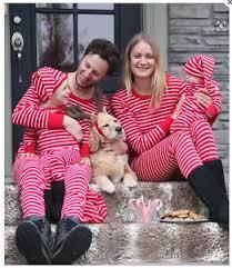 family sleepwear pajamas set striped cotton